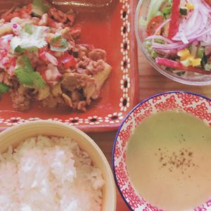 Go To Eatキャンペーンでメキシカン・ランチしました!